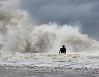 Hurricane Joaquin in Rockaway Beach