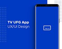 TV UFG // UI/UX Design