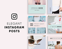 Elegant Instagram Posts