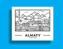 Almaty City. My hometown