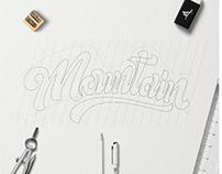 Mountain Handlettering