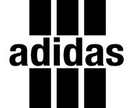 Adidas logo remake