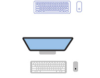 Apple Desktop Illustration