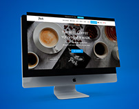 Buy Best Coffee Online - Web design of Perk Coffee