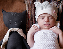 Newborn Session & Photobook Design for Roma