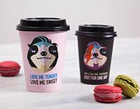 coffee chain re-brand