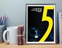 5 Gum Campaign Romania