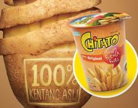 CHITATO 100 % kentang Asli