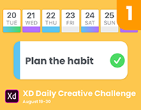 XD Daily Challenge 2019 Aug 19-30, Day 1