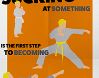 Karate Dojo Poster