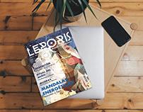 LEPORIS Diagramación de revista