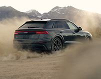 Audi Q8 - Driven by Greatness