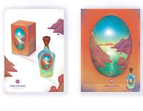 「熒惑黎明淡香水」產品包裝, 設計   Dawn of the Mars