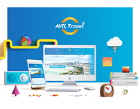 Avil Travel Website Design