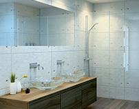 Bathroom with Skylight, Pozuelo de Alarcón
