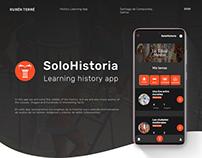 SoloHistoria App - Learning history