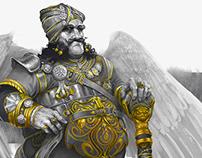 Garuda Maharaja (Baaz Singh) and others
