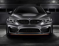 BMW M4 GTS, CGI Background by Christoph Kuhn