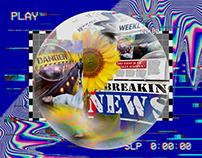 X Breaking News _ Poster Design XX