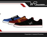 Shoe advertising