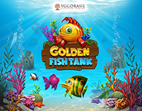 Golden Fish Tank - marketing art & design