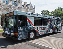 UConn Hockey Ice Bus