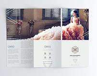 Minimal Tri-Fold Brochure PSD Template Free Download