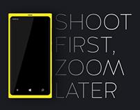 Nokia Lumia 1020 - Print ad Concept