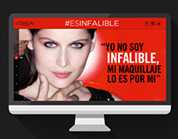 L'Oreal Paris CA #EsInfalible website
