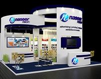 Naseer Neon Exhibition Stand