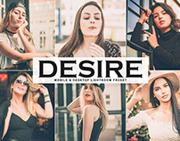 Free Desire Mobile & Desktop Lightroom Preset