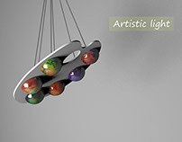 "Lamp ""Artistic light"""
