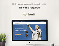 LAWE - Lawyer and Attorney Muse Template