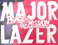 Major Lazer, Release poster