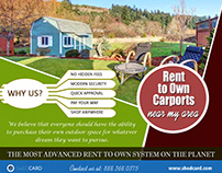Rent to Own Carports   888.368.0375   shedcard.com