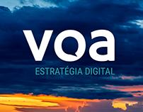 Voa Estratégia Digital | Identidade Visual