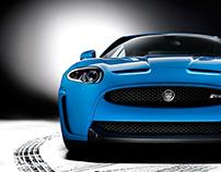 Jaguar XKRS studio