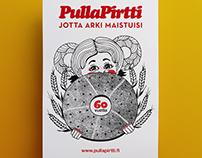 Anniversary print for Pulla-Pirtti