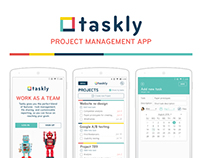 Taskly - User interface