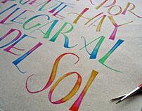 SAMBA  VEXILLOGRAPHICA / letras dibujadas.-