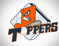 Danbury Toppers Kinetic Logo