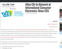 International Consumer Electronics Show - Allen Chi