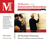 Summer 2014 Automotive Restoration Newsletter