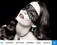 Hair Saloon Website