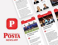 Posta News - iOS & Android App