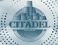 "Logotype of Digital Agency ""Citadel"""