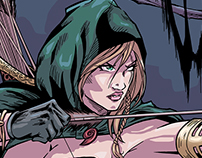 Robyn Hood (Coloring Process)