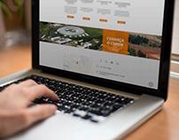 Proposta de design e layout para o site LNnano