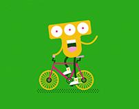 Monster biking