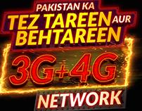 Jazz 3G+4G Campaign